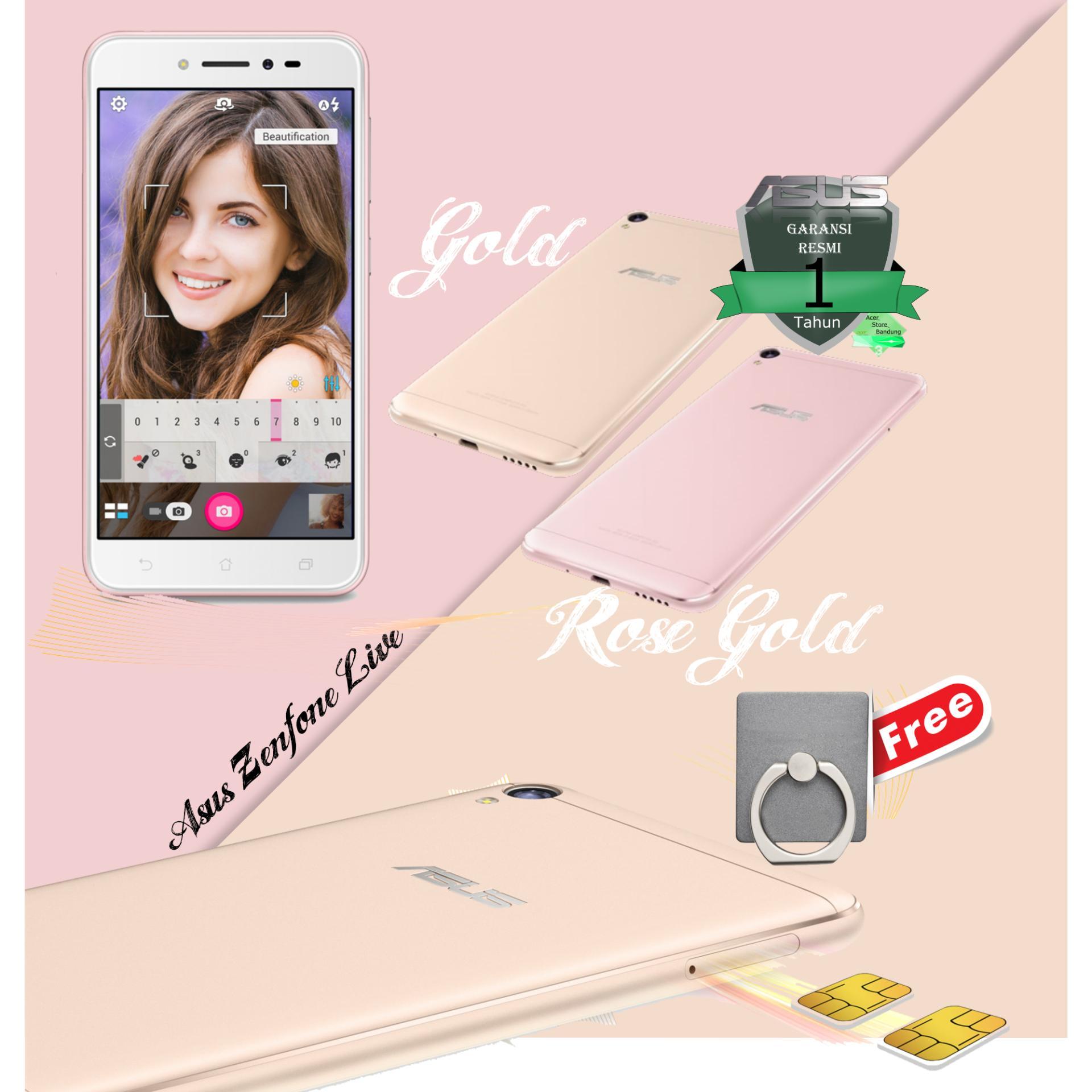 Hot Deals Asus Zenfone Live Zb501kl 2 16gb Free Ring Holder 3 Max Zc520tl Grey Garansi Resmi 1 Tahun Indonesia