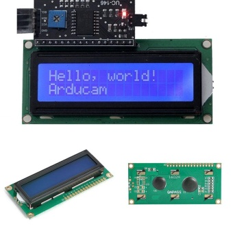 Aukey 0 shipping fee IIC I2C TWI 1602 16 Pins Interface Backlight LCD Dispay Module Board For Arduino - intl
