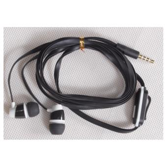 Babamu Headset In Ear - Handsfree Universal / Hitam