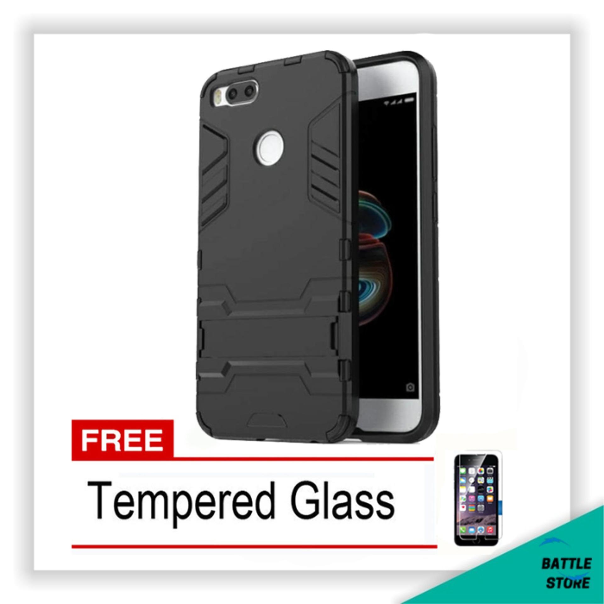 Melindungi Gadget Dari Debu Dan Benturan Back Case Xiaomi Mi A1 MiA1 Iron Man Robot Transformer Ironman Limited + Free Tempered Glass