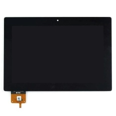 Baru 100% Touch Digitizer Layar LCD Display Assembly untuk Lenovo IdeaTab S6000 (Hitam) + 3 M Tape + Membuka Alat Perbaikan + Lem