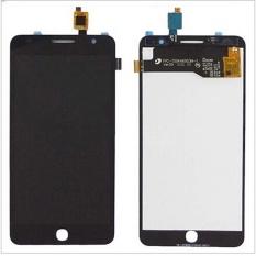 Baru Touch Digitizer Layar LCD Display Assembly untuk Alcatel Pop Star 3g Ot5022 OT 5022 Ot-5022 5022x 5022d (hitam) + 3 M Tape + Membuka Alat Perbaikan + Lem
