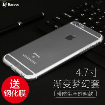 Gambar BASEUS iphone6 6plus silikon penurunan Drop all inclusive enam shell handphone shell