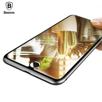BASEUS Mirror Glass Flim For Iphone 7 Plus Sceeen Protector ForIphone 7 Plus HD Clear Tempered Glass Film Screen Protector ForIphone 7 Plus - intl