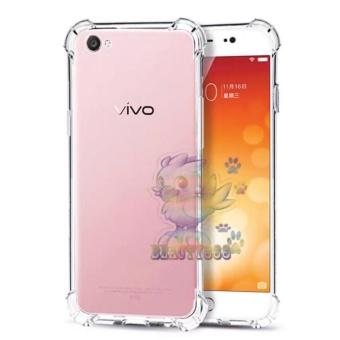 Beauty Case For Vivo Y51 Anti Crack Vivo Y51 Ultrathin Anti ShockElegant Softcase Anti Jamur Anti Crack Air Case 0.3mm / SiliconeVivo Y51 / Soft Case / Case Hp - Putih Transparant