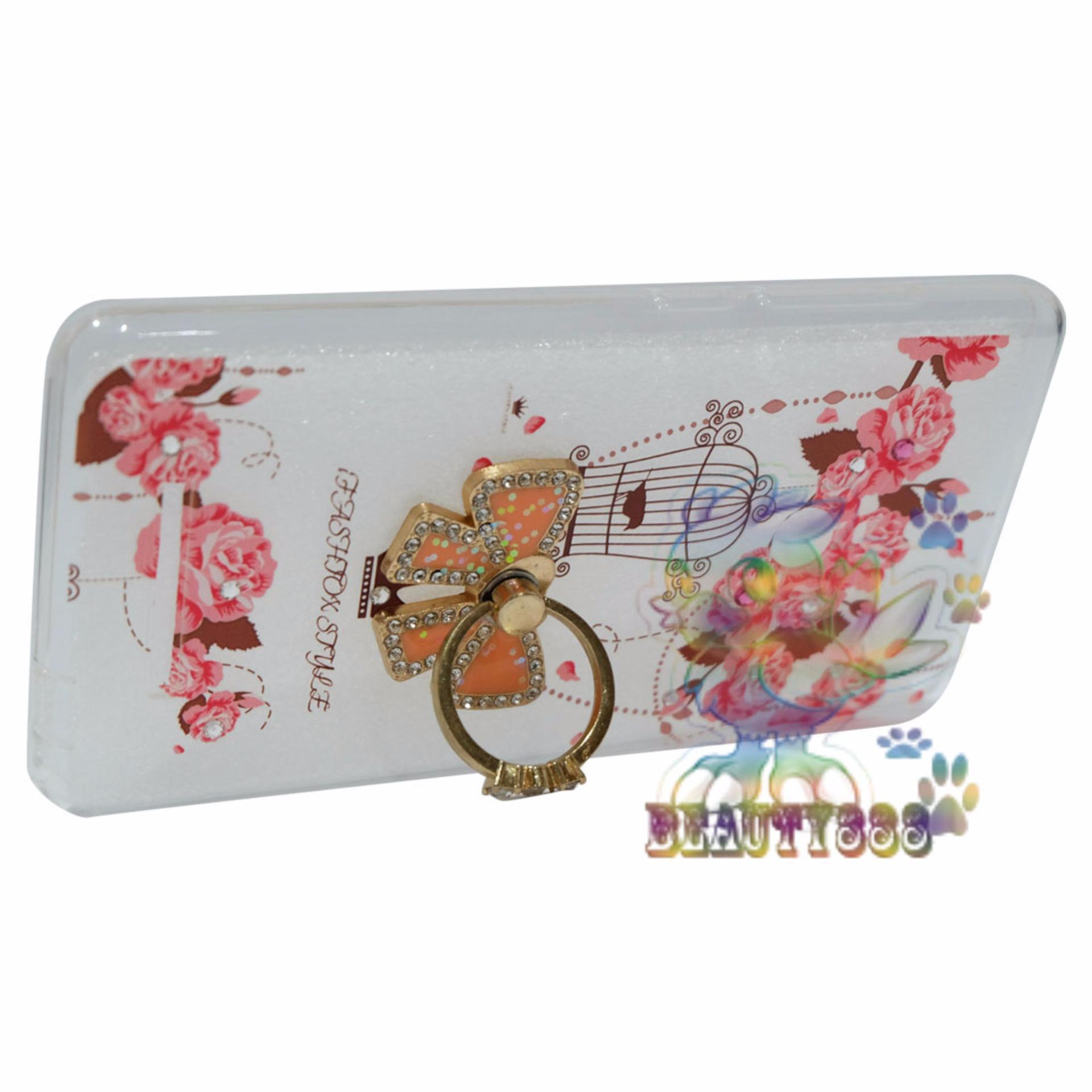 ... Beauty Case For Xiaomi Redmi Note 3 Softshell Animasi Vintage Bird+ Holder Ring Tape Soft Case ...