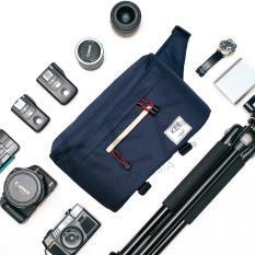 Beetle Edition (Navy Cream)- Camera Bag - KEE INDONESIA