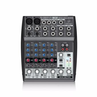 harga Behringer Mixer XENYX 802 8-Channel Compact Audio Mixer Lazada.co.id