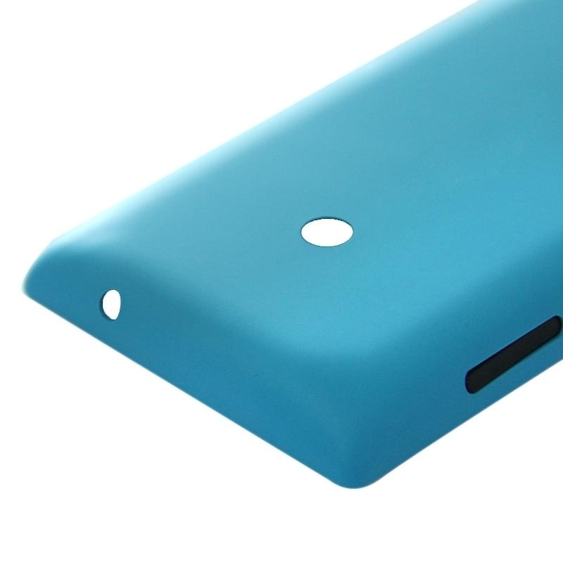 Belakang plastik penutup penggantian untuk perumahan Nokia Lumia520 (Biru) .