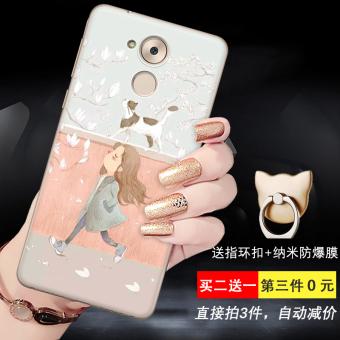 Gambar Belang silikon kartun soft shell dicat relief handphone shell. Merk: OEM