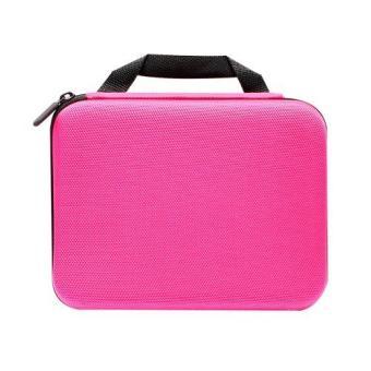 Berrisom Action Camera Medium Bag for Brica, GoPro HERO, Xiaomi,SJCAM - Pink - 5