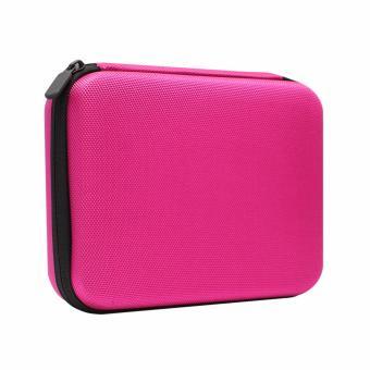 Berrisom Action Camera Medium Bag for Brica, GoPro HERO, Xiaomi,SJCAM - Pink - 3
