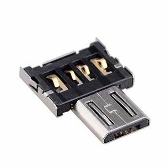 Best CT Mini USB Flash Disk U Disk OTG Converter Adapter For XiaomiHTC Samsung HuaWei - Silver