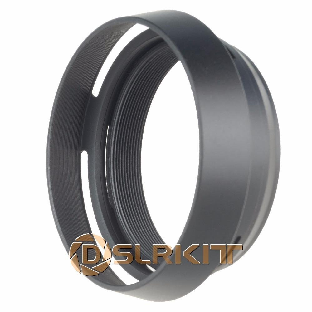 Jjc Lh Jxf23 Lens Hood Tudung Lensa With Cap Replacement Et 54b Untuk Tele Canon Ef M 55 200mm F45 63 Is Stm Eos Black 49mm Adapter Ring Metal For Fujifilm Fujix100 Replace
