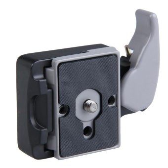 Black Camera 323 Quick Release Adapter with Manfrotto 200PL-14 Compat Plate (Black) - intl