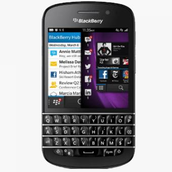Blackberry Q10 16GB - Hitam