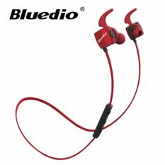 Rp 261.250. Bluedio TE Bluetooth Wireless Sports Headphone Headset Earphone - MerahIDR261250