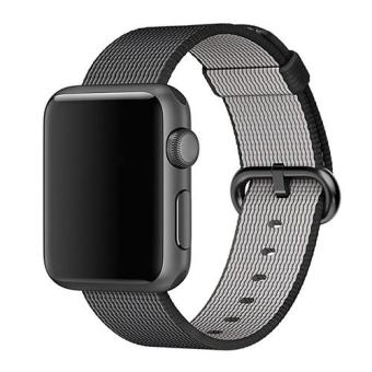 Bluelans(R) Nylon Strap Band Replacement for Apple Watch 42mm - Black