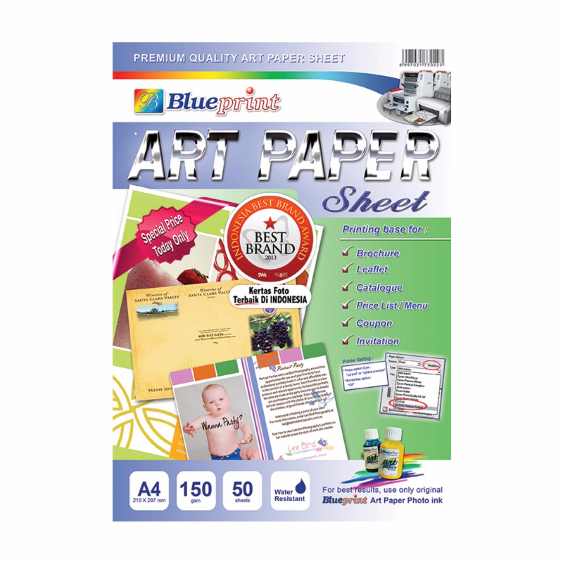 Blueprint art paper a4 150 gsm indonesia blueprint art paper a4 150 gsm malvernweather Image collections