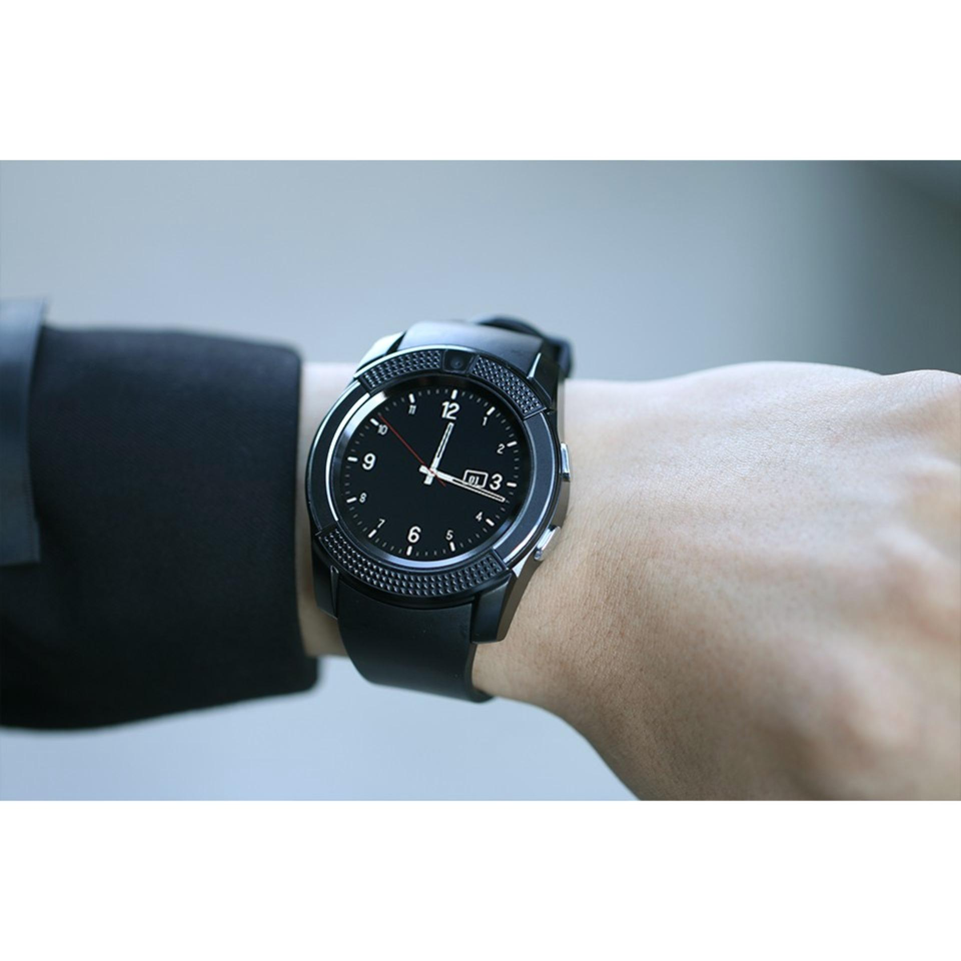 Bluetooth Smart Watch V8 Clock With SIM TF Card Sync Notifier Smartwatch For .