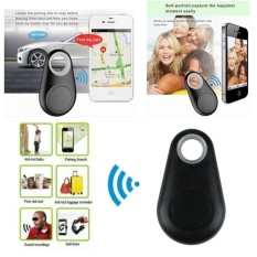 Bluetooth Tracker Anak PET Casing Dompet Kunci Finder GPS Locator Alarm Tag Baru-Intl