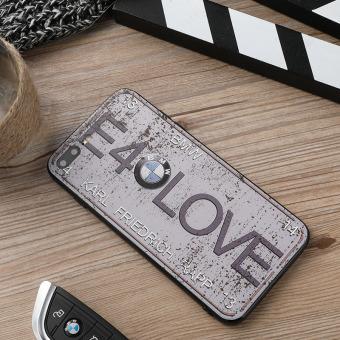 BMW IPhone7/7 Ditambah Apple ID Baru Laki-laki Sangat Tipis Casing Casing HP