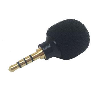 BolehDeals 3.5 mm stereo mini mikrofon - rekaman ponsel LaptopKecil - 2