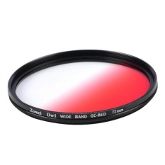 BolehDeals Ultra Thin Graduated Neutral Density Red ND Filter forDSLR Camera 72mm - intl
