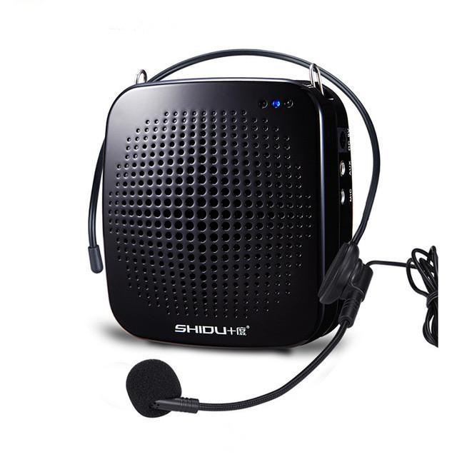 ... Brand mini portabel speaker audio amplifier loudspeaker megafon 15watt (Hitam) - Intl ...