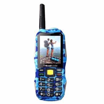 Brandcode B81 Army Camouflage Handphone Power Bank 10.000 mAh -Biru