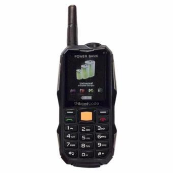 BrandCode B81 Handphone Antena Power Bank 10.000mAh - Hitam