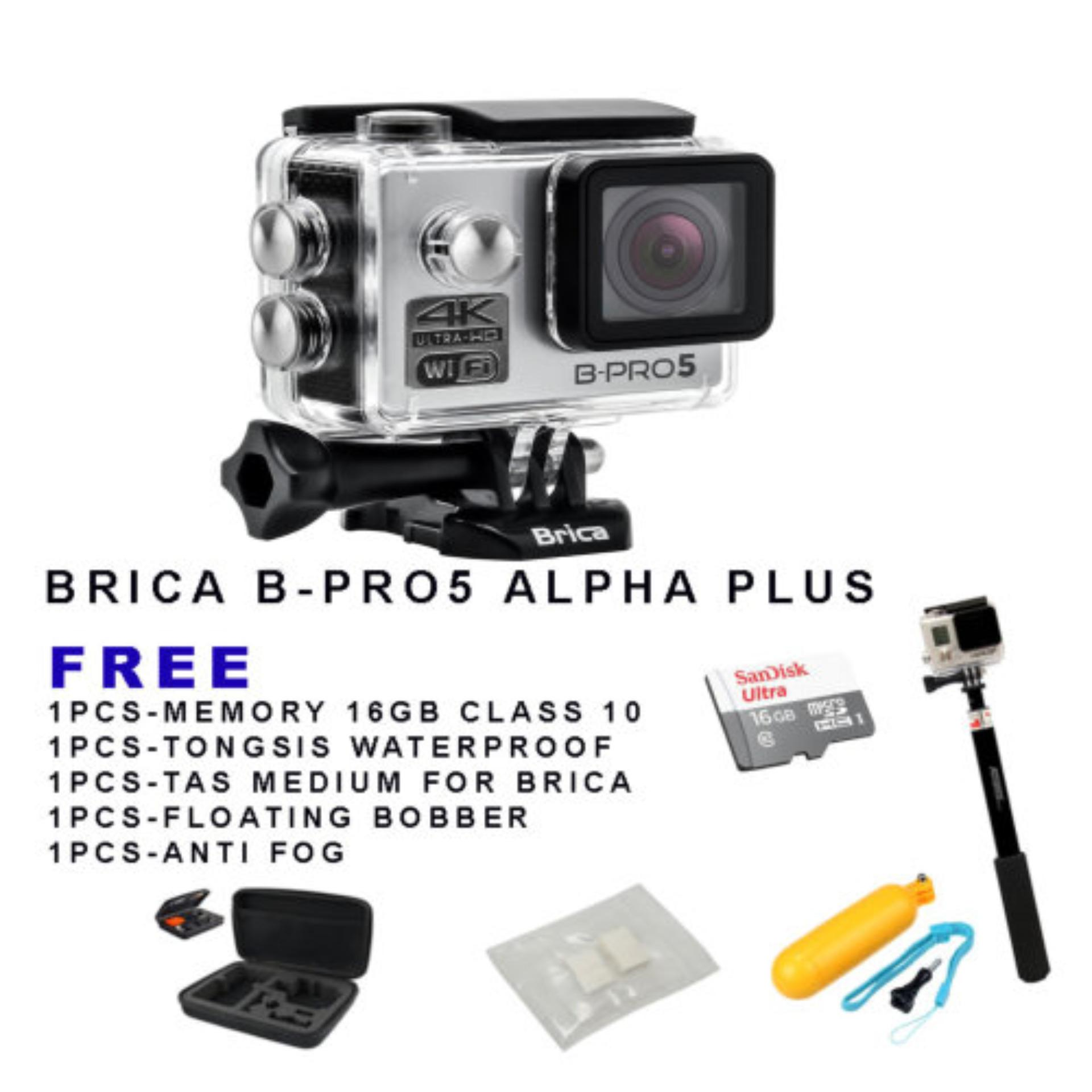 ... Brica B-Pro 5 Alpha Plus - Silver Action Camera Free Paket ...