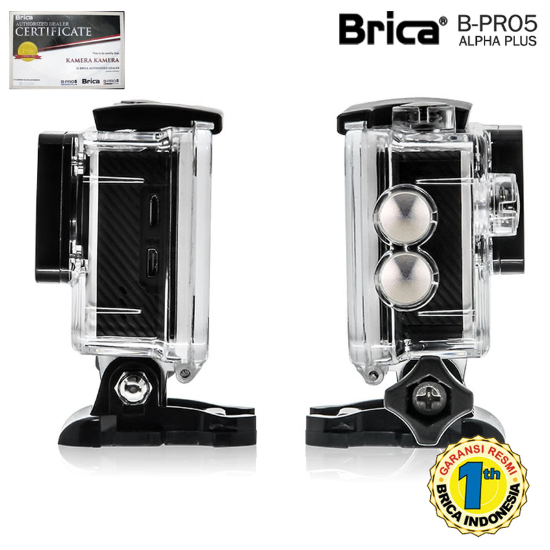 Brica B-Pro 5 Alpha Plus - Silver Action Camera Free Paket ...
