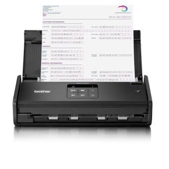 Brother ADS-1100W Compact Scanner - Mesin Scan