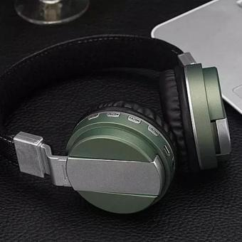 BT-008 Wireless Bluetooth Headphone Headset Foldable Earphone with Microphone for Smart Phone Computer - Green - intl - 3