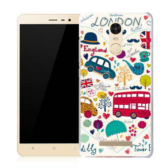 BUILDPHONE TPU Sof Phone Case for LG G3 Stylus/D690 (Multicolor) -intl