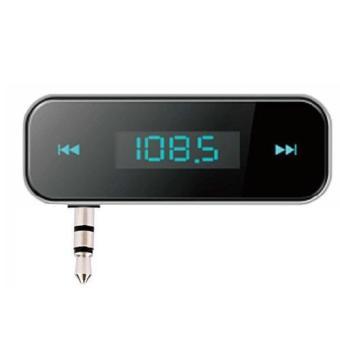 BUYINCOINS kabel 3.5 mm pemancar FM