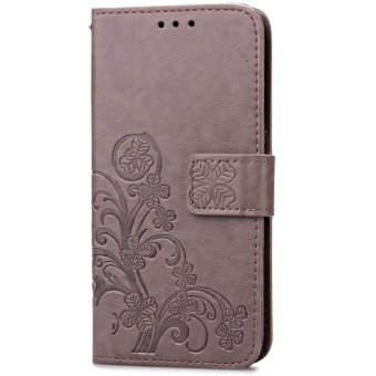 BYT Flower Debossed Leather Flip Cover Case for Xiaomi Redmi 4X intl 3 .