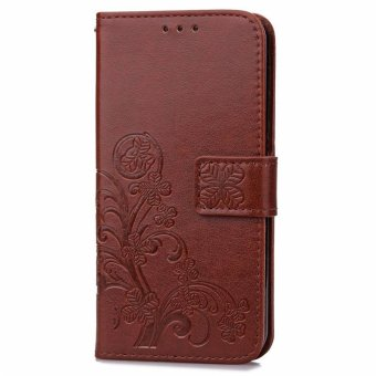 ... Note 4 Source · BYT Flower Debossed Leather Flip Cover Case for Xiaomi Redmi Note4X Brown