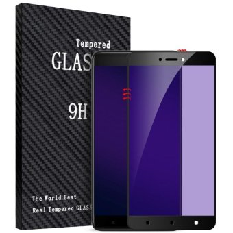 BYT Purple Light Tempered Glass for Xiaomi Redmi 4X, Premium 9H Hardness 3D Curved Anti