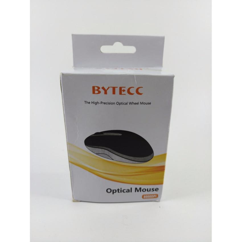 BYTECC ORIGINAL USB WIRED KABEL OPTICAL MOUSE MINI HITAM BLACK