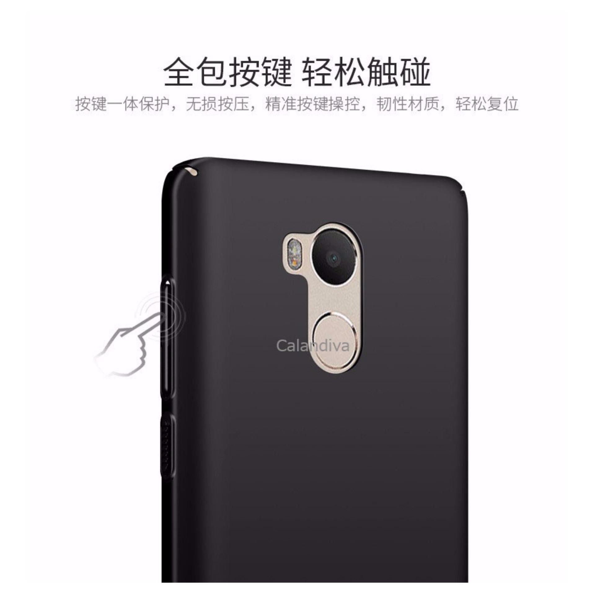 Calandiva 360 Degree Protection Case For Xiaomi Redmi 4 Black Spec S2 Hardcase Full Protective Slim 4s Prime Pro