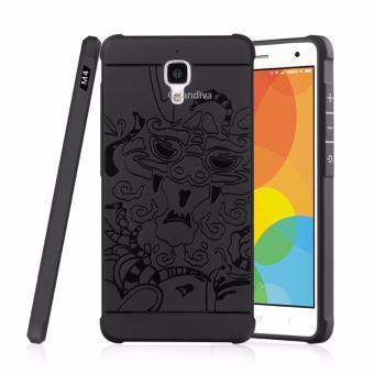 Rounded Tempered Glass Terlengkap. Calandiva Dragon Shockproof Hybrid Case for Xiaomi Mi .