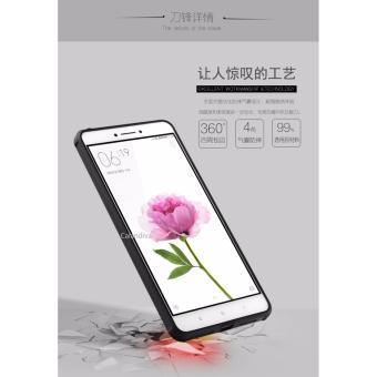 Calandiva Dragon Shockproof Hybrid Case for Xiaomi Mi Max 6.44 Inch - Hitam .