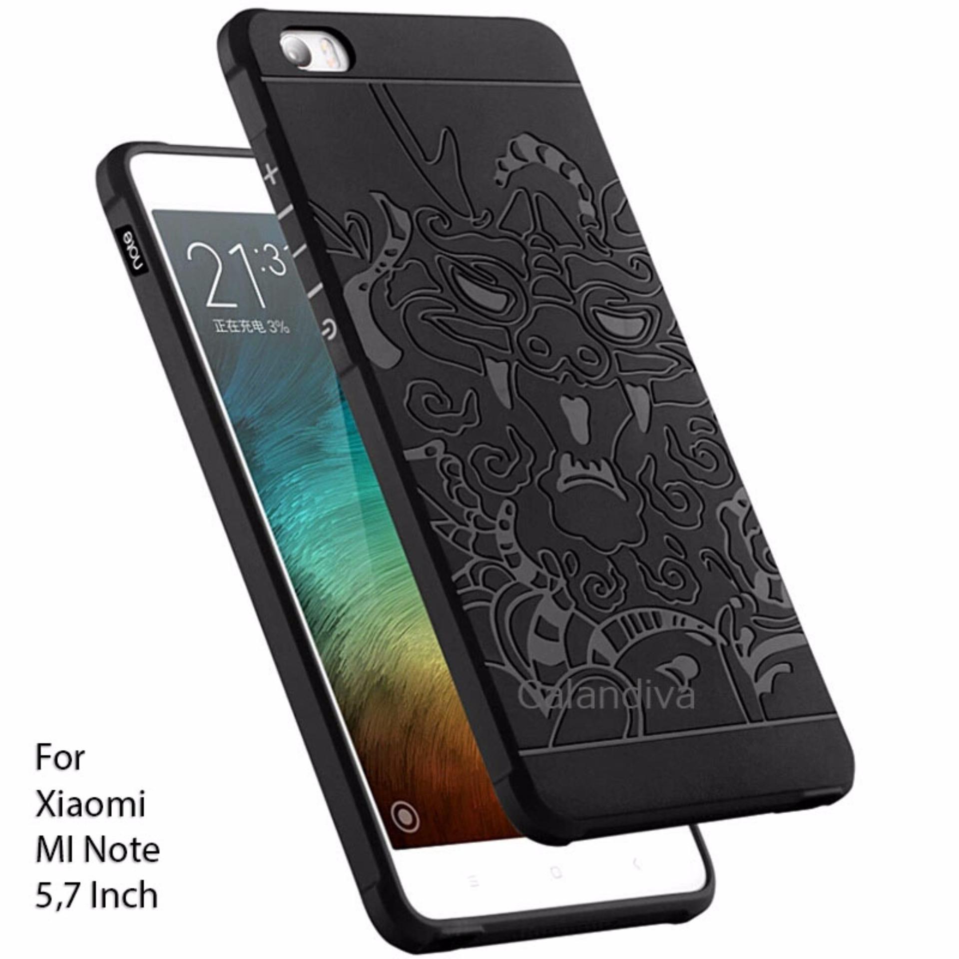 Calandiva Dragon Shockproof Hybrid Case for Xiaomi Mi Note / Pro 5.7 inch .