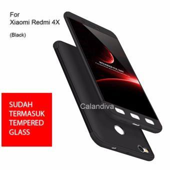 Calandiva Premium Front Back 360 Degree Full Protection Case for Xiaomi Redmi 4X / Redmi 4X