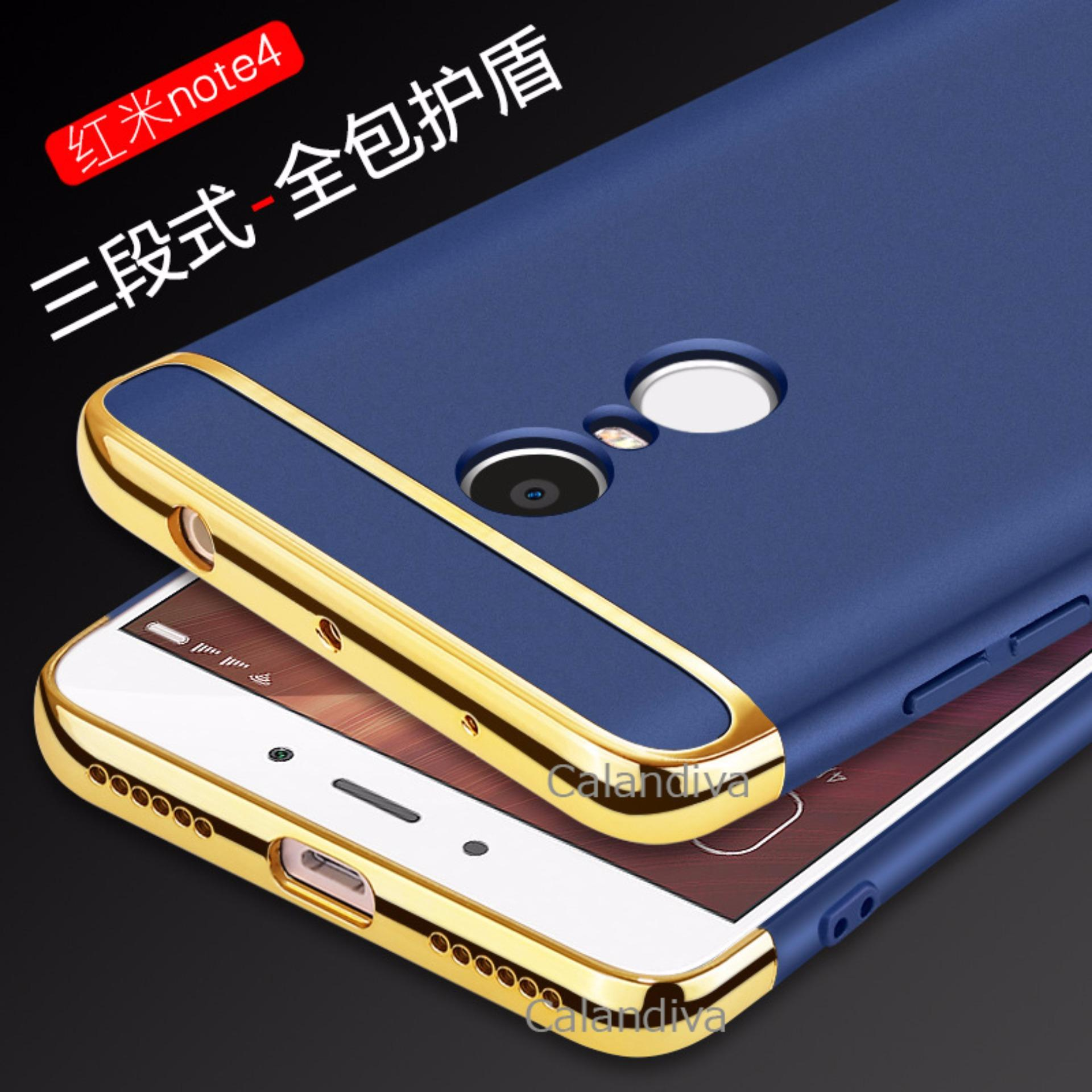 Calandiva Premium Quality Elegance Protection Hardcase for Xiaomi Redmi Note 4 Mediatek / Redmi Note 4x ...
