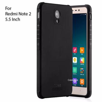 Calandiva Shockproof Hybrid Case for Xiaomi Redmi Note 2 - Hitam