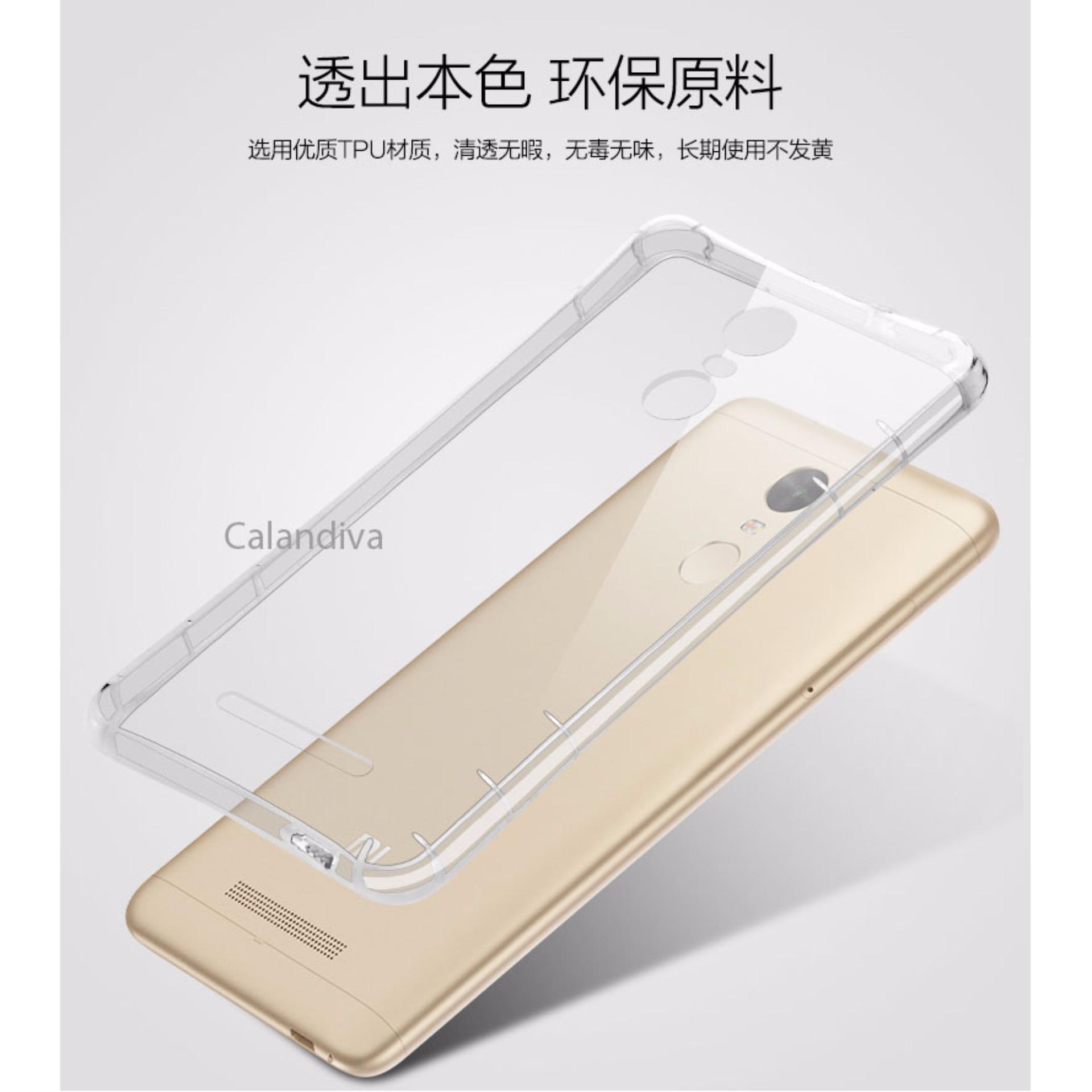 Calandiva Shockproof TPU Ultrathin Case untuk Xiaomi Redmi Note 3 / Redmi Note .