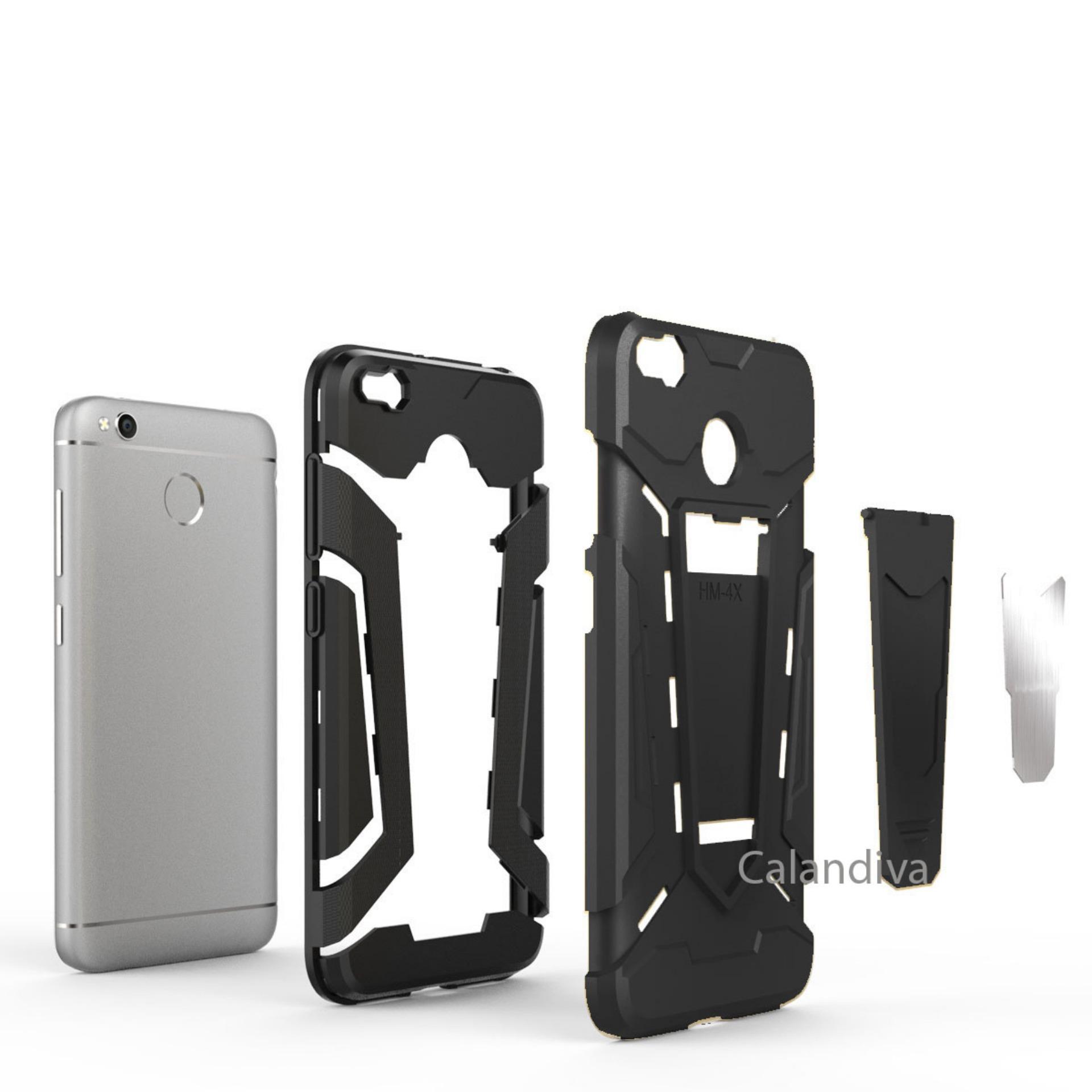 Calandiva Transformer Kickstand Slim Armor Hardcase for Xiaomi Redmi 4X / Redmi 4X .